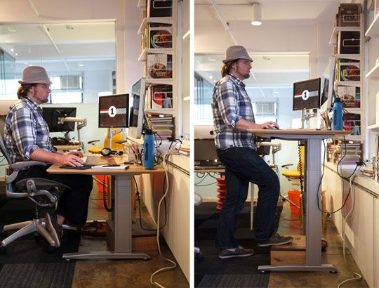 Affordable Small Space Standing Desk  Desks Small