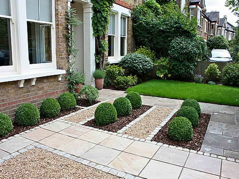 Front Garden Design Ideas With Common Style Landscaping