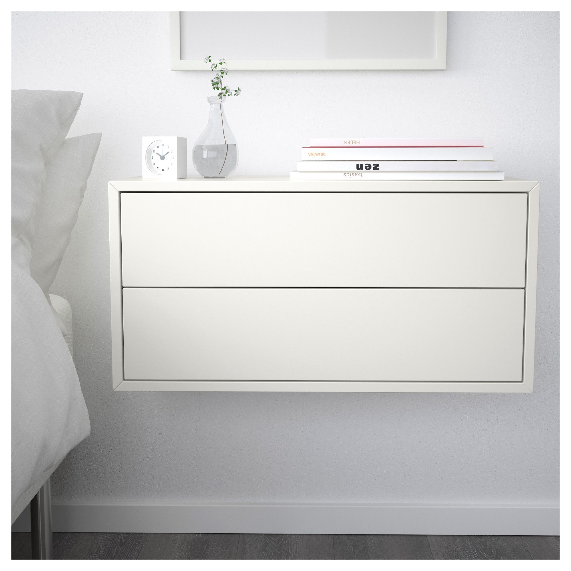 ikea floating cabinet living room gray ideas pinterest best 25+ eket on | wall, ...