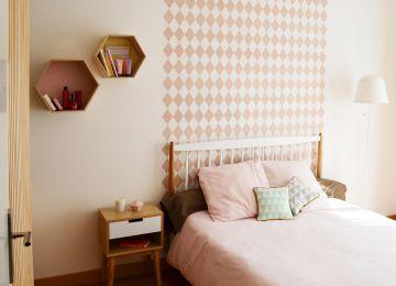 Chambre Bois Rose | Chambre Bleu Et Rose Chambre Bleu Gris