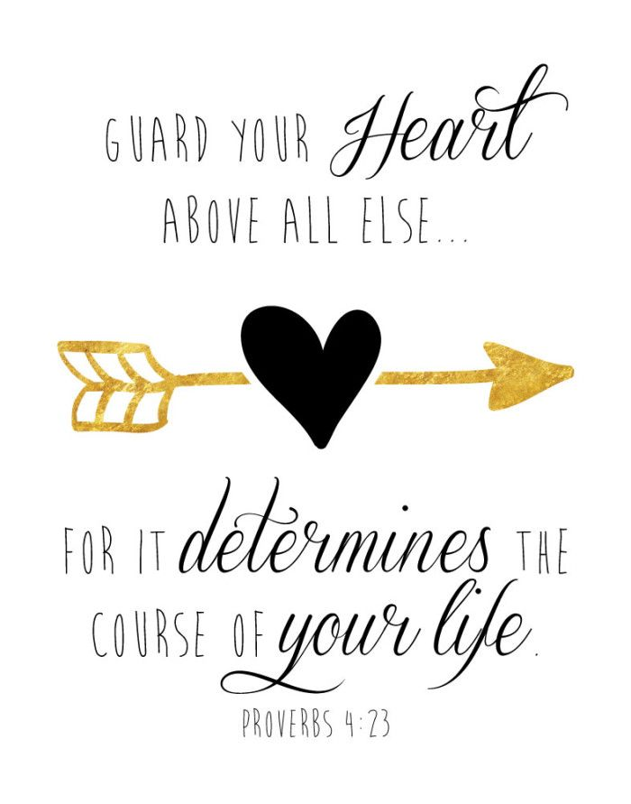 Best 25+ Guard your heart scripture ideas on Pinterest