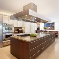 Of The Most Designer Kitchen Contemporary Widescreen Design With Island For Island Step Up Desktop Hd