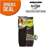 Janet Collection Noir Afro Twist Braid 100% Kanekalon ...