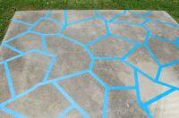 painted patio concrete porch our patio we decided to paint ...