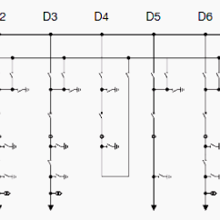 Single Line Diagram Of Power Distribution Honeywell Thermostat 4 Wire Double Busbar Transmission And