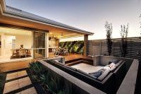 sunken seating charcoal | Outdoor Room & Garden ...