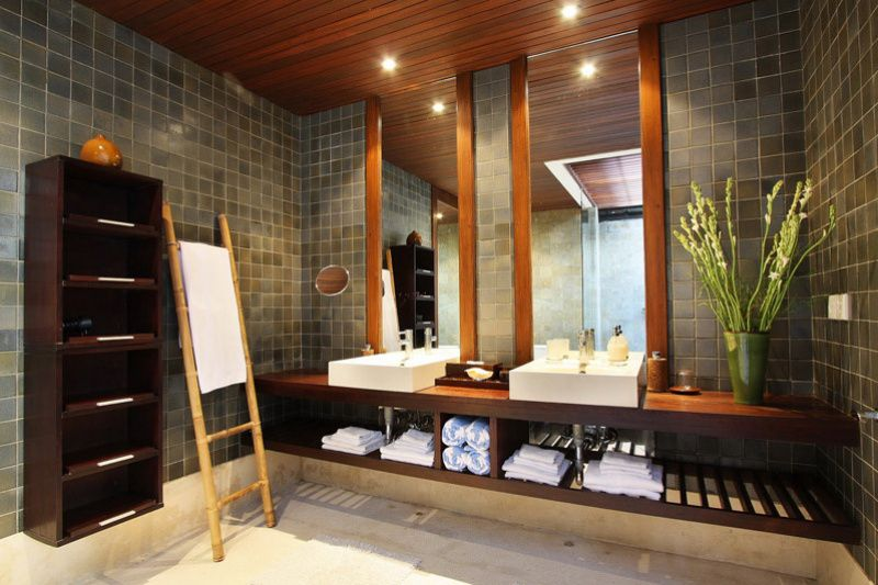 Balinese Bathroom Designs Google Search Light Tile With Teak