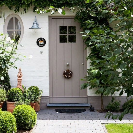 Curb Appeal Cottage Style Front Doors Gardens Front Doors And