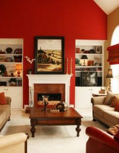 Beautiful room this is actually sw red bay by sherwin williams also rh pinterest