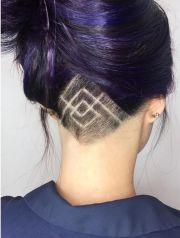stunning undercut hair design