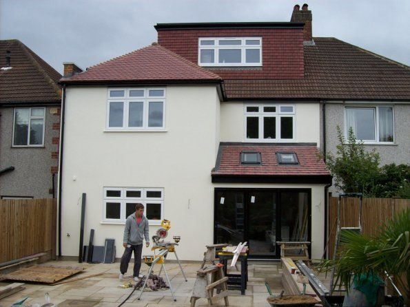 100 2327 Rear 2 Storey Extension House Extension Pinterest