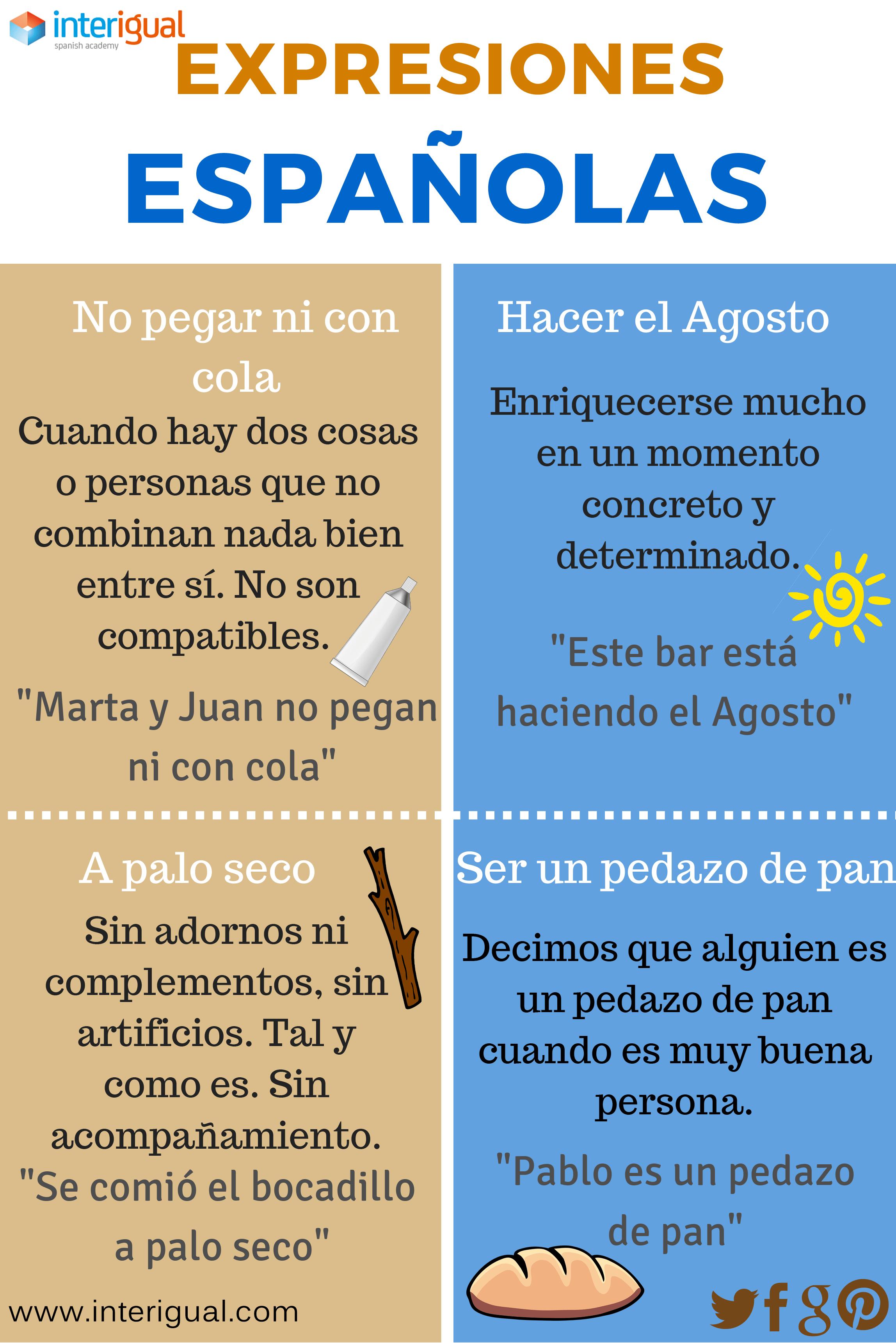 Expresiones Espanolas