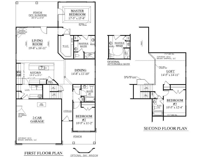 House Plan 2224 Kingstree Floor Traditional 1 2 Story