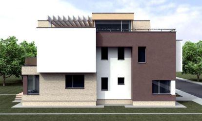 casas fuera dentro modernas planos pisos dos