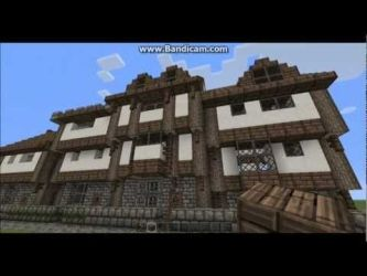 minecraft medieval layout village town towny modular layouts