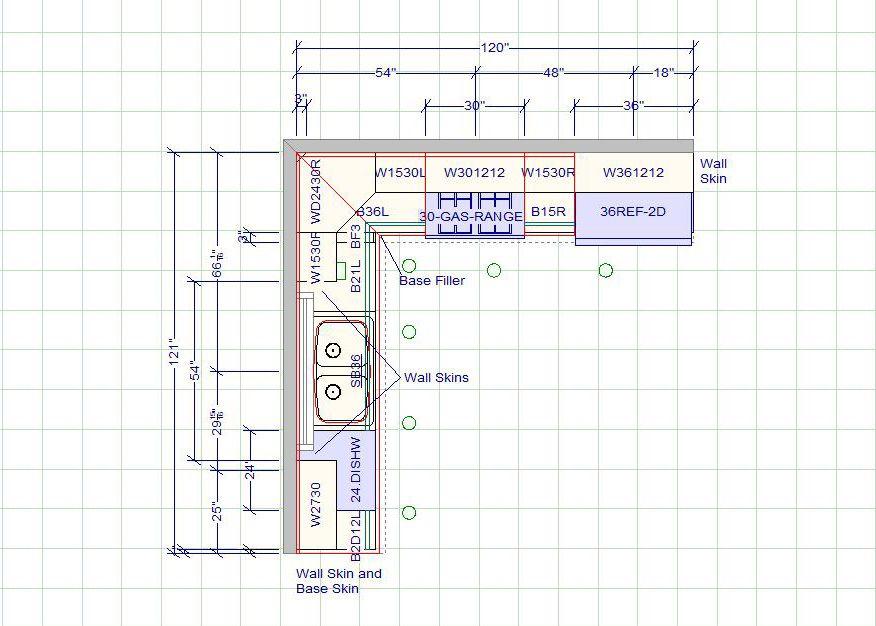 10 X 12 Kitchen Layout 10 X 10 Standard Kitchen