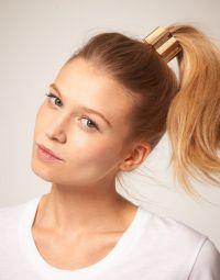 hinge ponytail holder