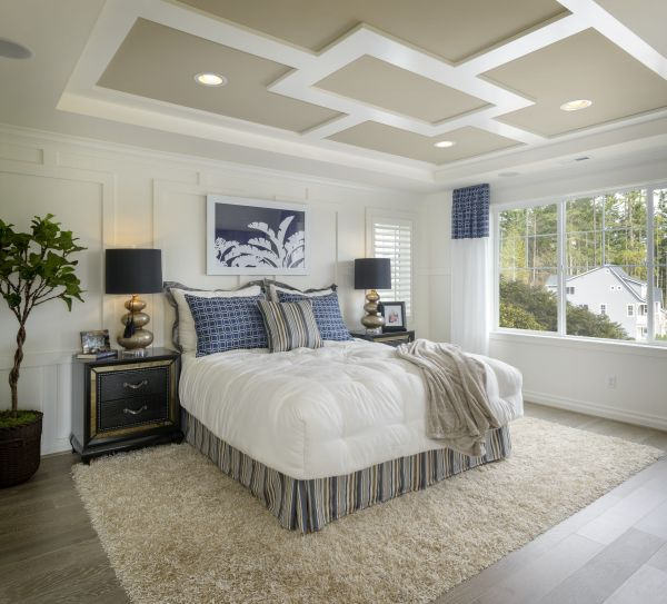 peaceful master bedroom A peaceful master bedroom. (Toll Brothers at Parkhurst, WA) | Bedrooms | Pinterest | Master