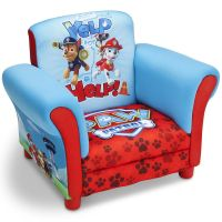 Paw Patrol Chair Upholstered Kids Bedroom Toddler ...