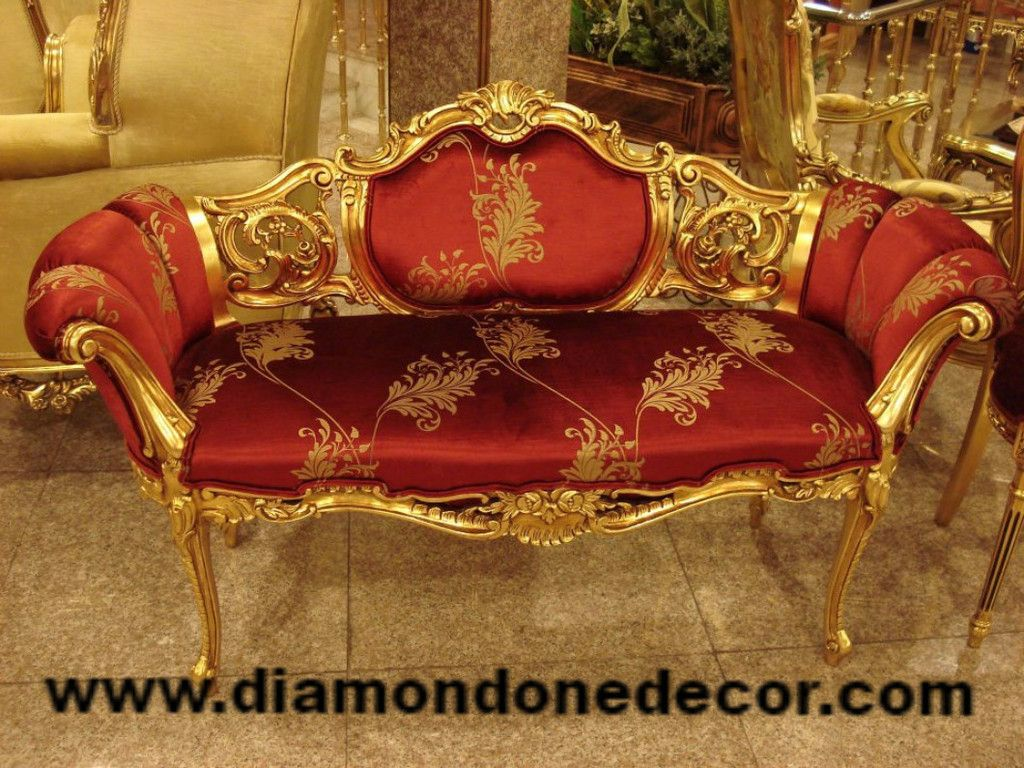 baroque sofa bed ottoman king furniture quotceline quot fabulous french reproduction louis xv
