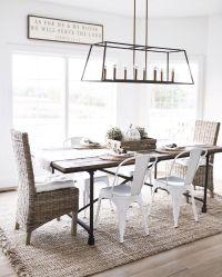 modern farmhouse dining room chandelier lighting lantern ...