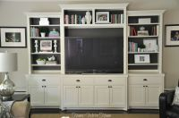 Planning to hack an ikea entertainment center to look like ...