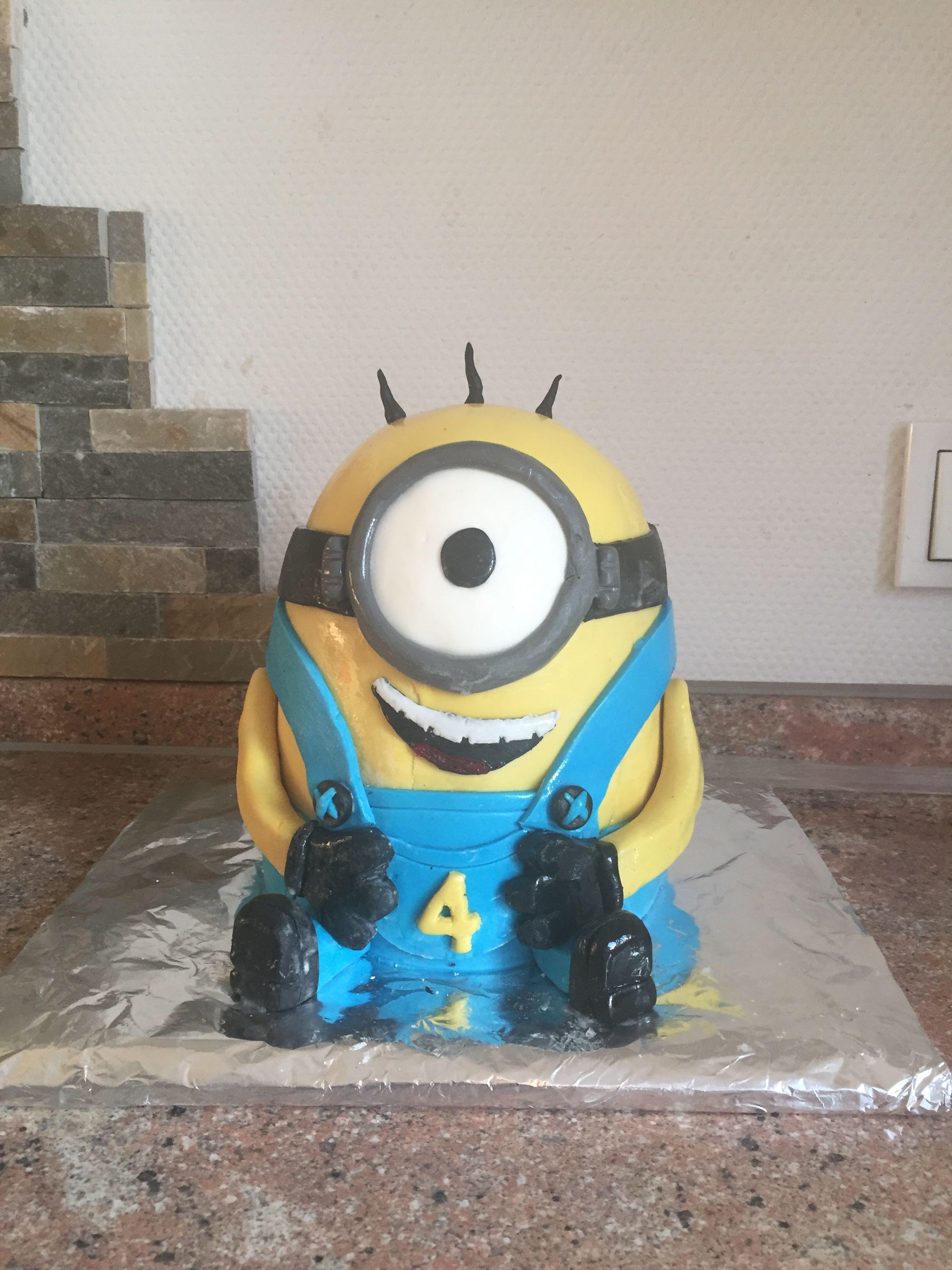 Minions Torte Selber Backen Sandy 39s Kitchendreams Minion Kuchen