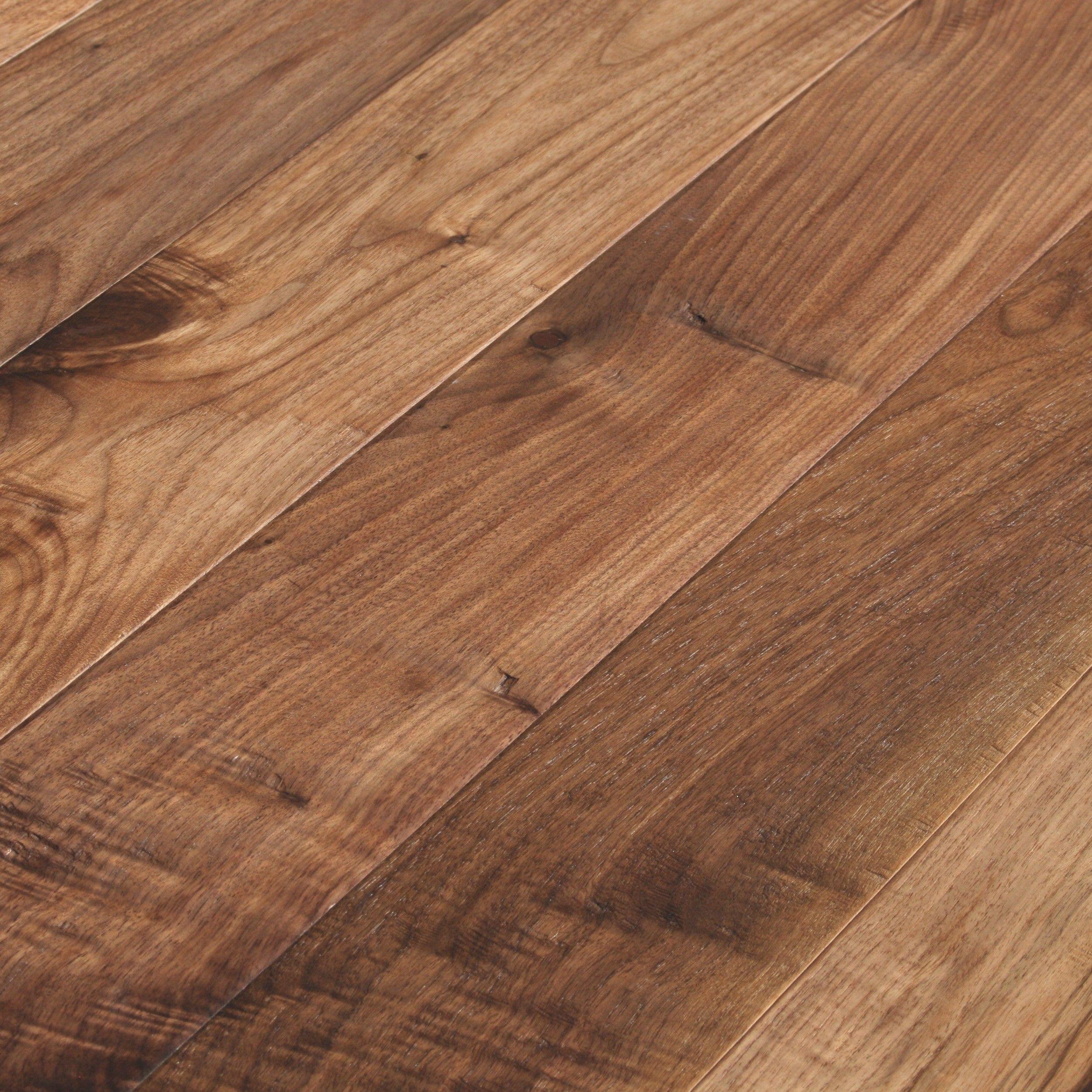 Millennium Walnut Oiled Natural Hand Scraped Flooring