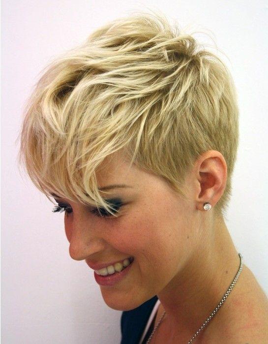 40 Trendige Kurzhaarfrisuren Frauen 2014 Kurze Haarschnitte