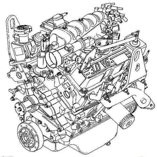 1990 Ford Aerostar Engine Diagram