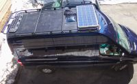 Aluminess roof rack for Mercedes Sprinter...solar panel