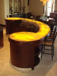 Fetching Modern Bar Counter Designs For Home Design With ...