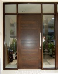 wood front double doors - Google Search | Door Styles ...