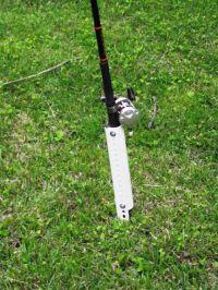 DIY Bank Fishing Rod Holders | Fishing | Pinterest