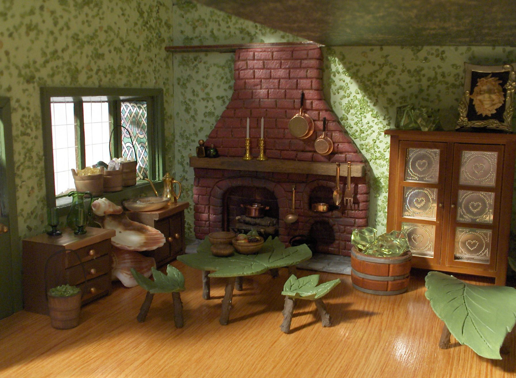 Fairy House Furniture Ideas Leaf Furniture Made From Real Leaves