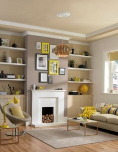 Contemporary living rooms also yellow accessories bring this stylish lounge together simple rh in pinterest