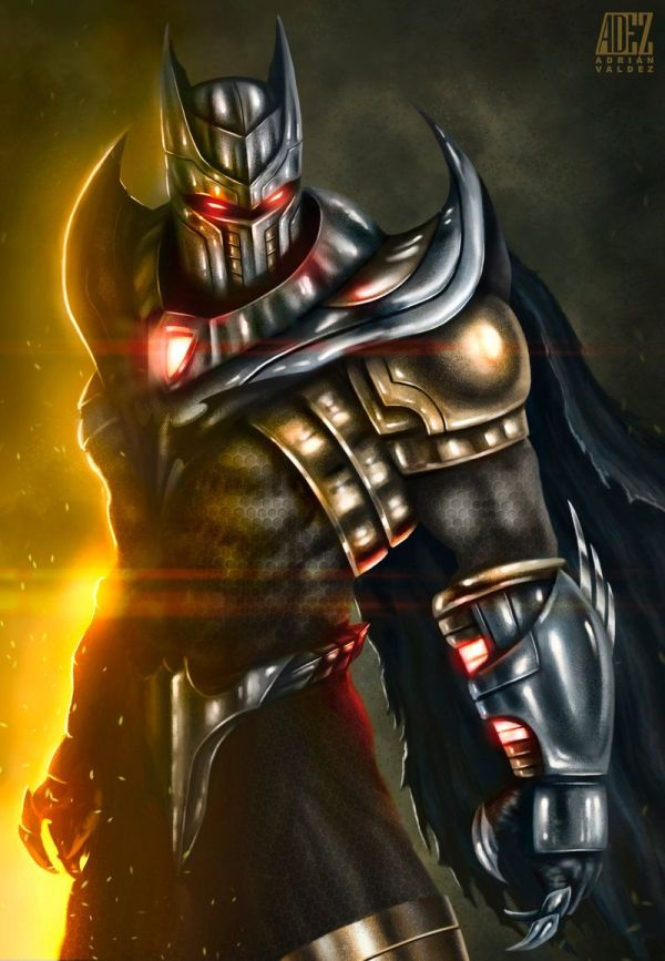 Batman Azrael Deviantart '