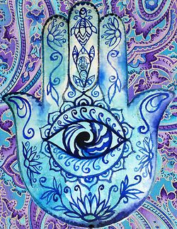 Hamsa Hand Tumblr Background