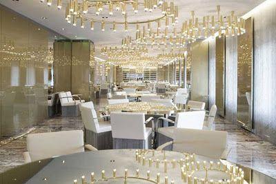 FLEUR DE LONDRES Interior Inspiration D&g Gold Restaurant