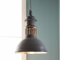 Industrial Kitchen Lights Drop In Stainless Steel Sink Large Modern Vented Warehouse Pendant