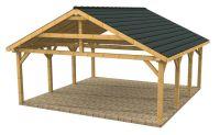 Wooden Carports and Garages | Wood Frame Carport Designs ...