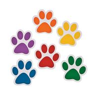 48 Paw Paper Cutouts - Dog/Animal Party Decorations | Paw ...