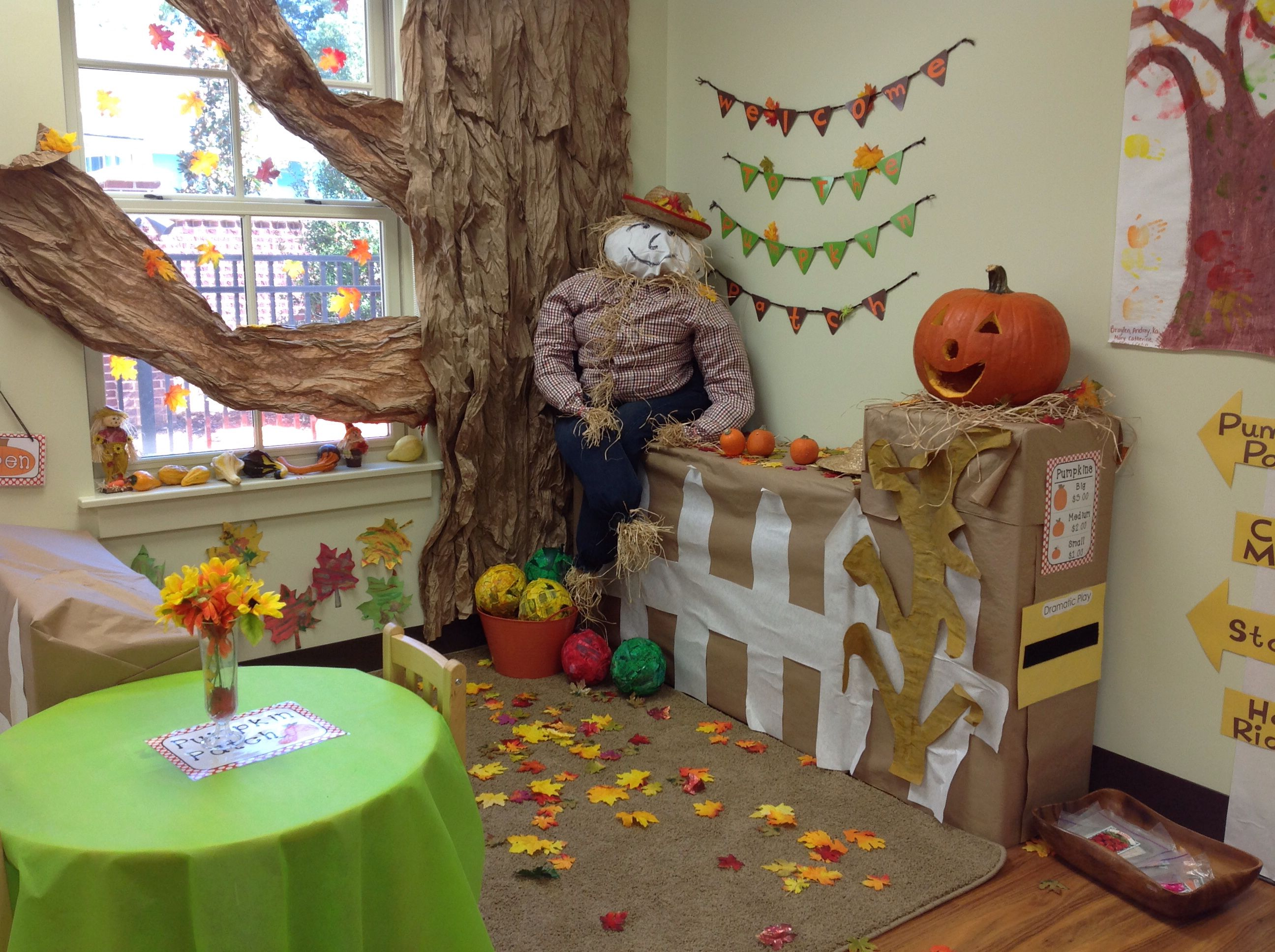 Pumpkin Patch Dramatic Play I Did For My Class