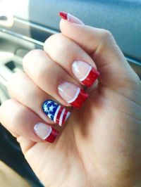 patrioticnails.quenalbertini: July 4th Nail Art Design