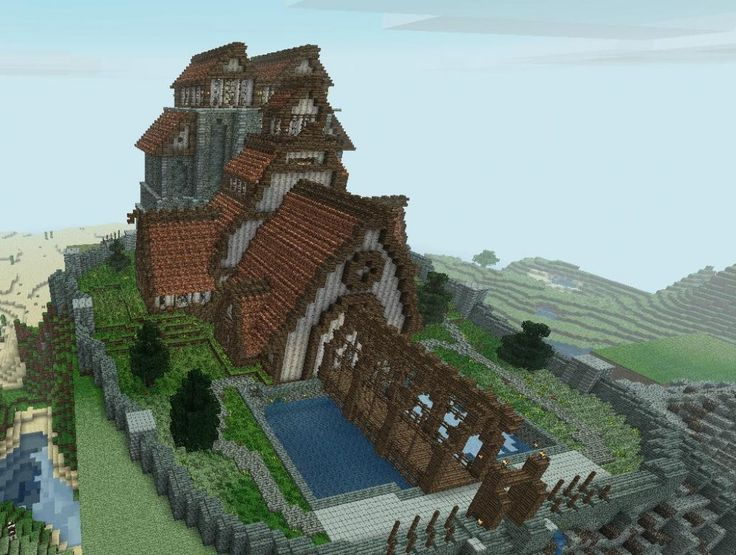 Minecraft Mountain Castle Ideas Google Search Minecraft Gaming