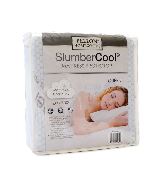 Pellon Slumber Cool Mattress Protector Queen 60