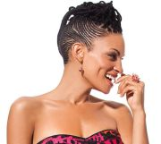 black hair elegant cornrow styles