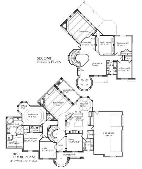 2- STORY 3990 square foot air conditioning, 4 bedroom, 3 1