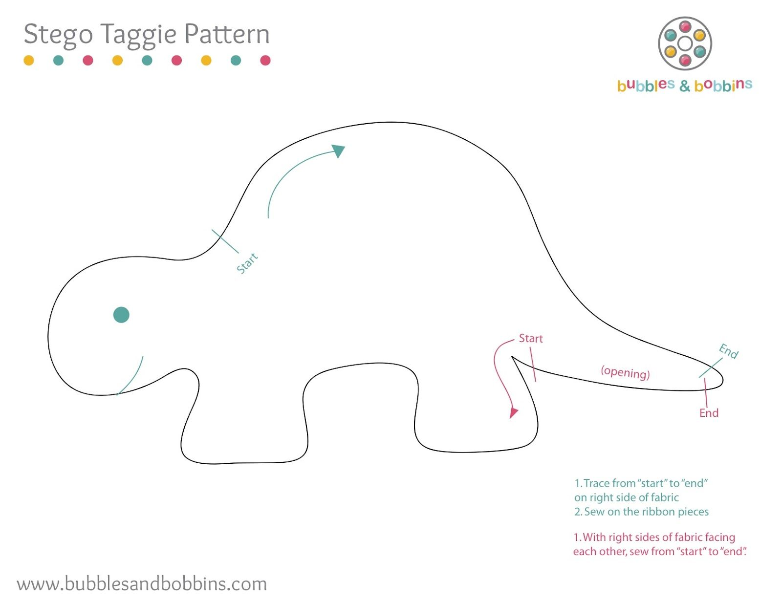Template For Stegosaurus Counting Game Make Out Of Fun