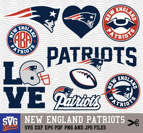Download NEW ENGLAND PATRIOTS svg logos monogram silhouette by ...